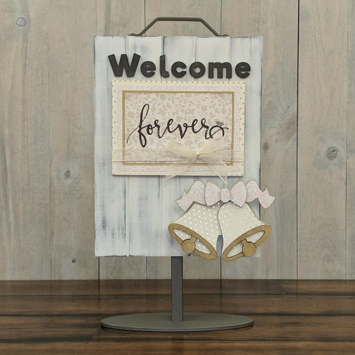 Foundations Decor: Welcome Sign Add-On - Wedding