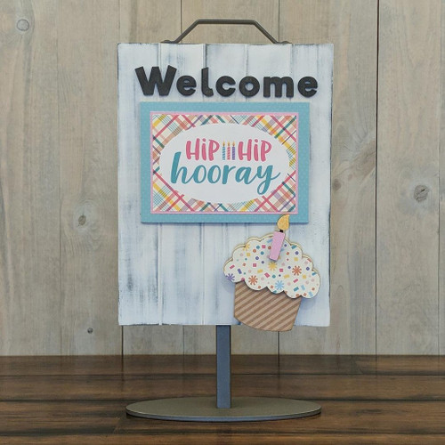 Foundations Decor: Welcome Sign Add-On - Birthday