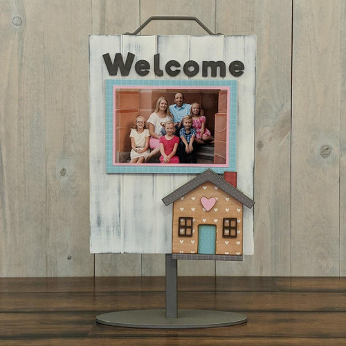 Foundations Decor: Welcome Sign Add-On - House