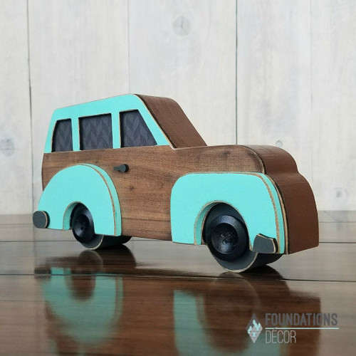 Foundations Decor: Vintage Car