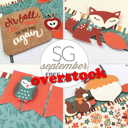 SG: Happy Fall - 1 Layout Kit
