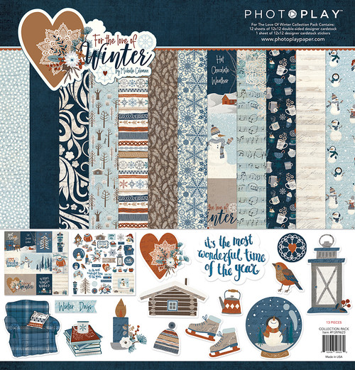 PhotoPlay For the Love of Winter Collection Pack