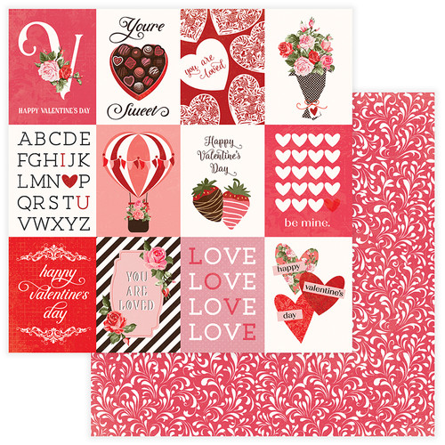 PhotoPlay Be Mine 12x12 Paper: You're Sweet