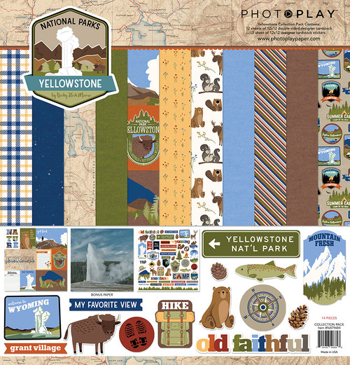 PhotoPlay National Parks Yellowstone Collection Pack