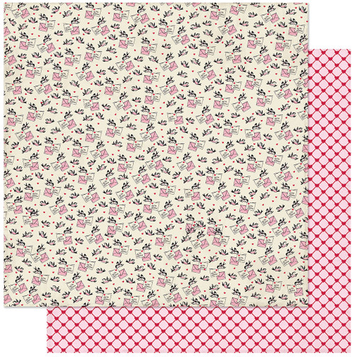 CLEARANCE | Authentique Love Notes 12x12 Paper: Two