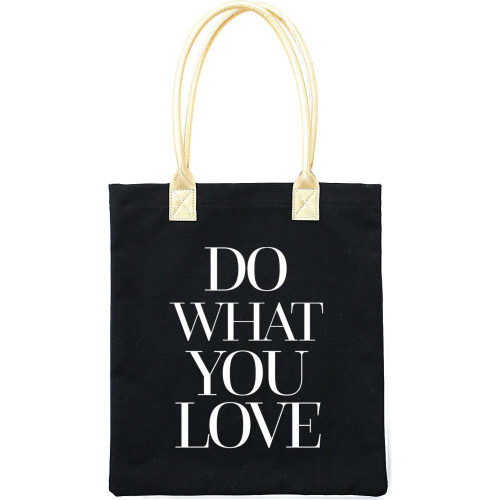 Teresa Collins 16x13 Canvas Tote Bag: Do What You Love