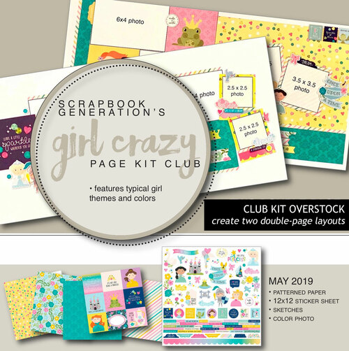 SG: Girl Crazy Overstock Club Kit | May 2019
