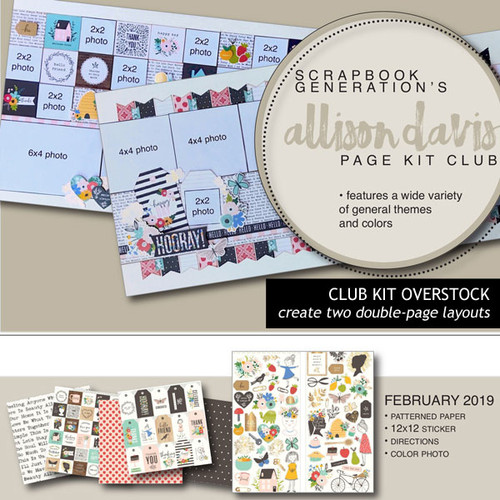 SG: Allison Davis Overstock Club Kit | February 2019