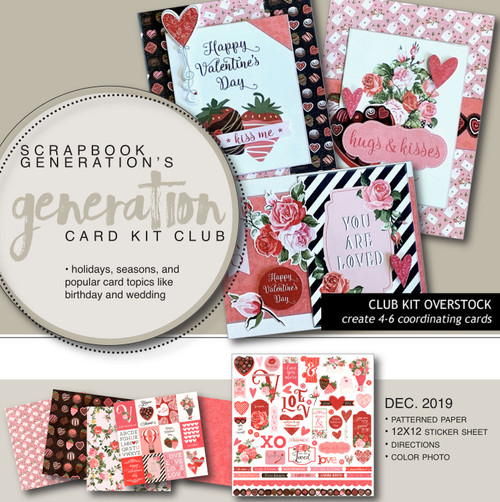 SG: Generation Card Overstock Club Kit | December 2019
