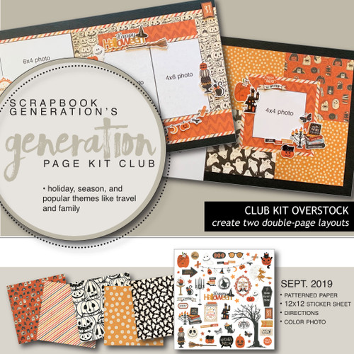 SG: Generation Page Overstock Club Kit | September 2019