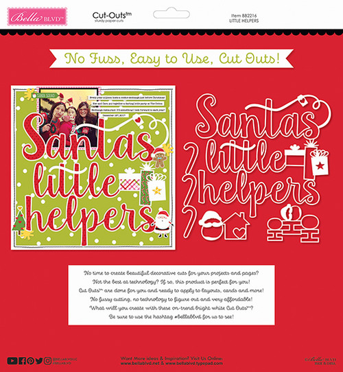 Bella Blvd Santa Squad Cut-Outs: Little Helpers