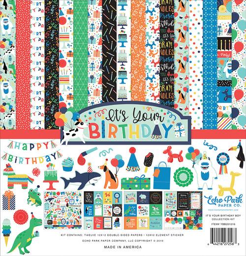 Echo Park It's My Birthday - BOY Collection Kit