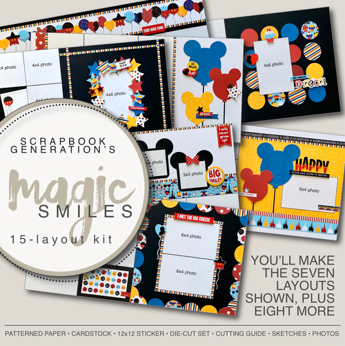 SG: Magic Smiles - 15 Layout Kit