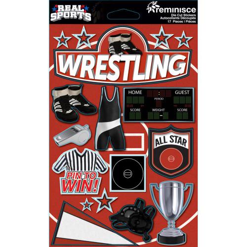 Reminisce Signature Series Dimensional Sticker: Wrestling
