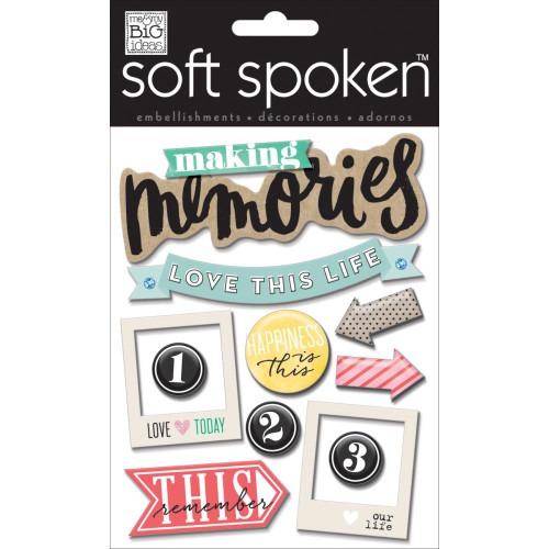 Soft Spoken Stickers: Making Memories