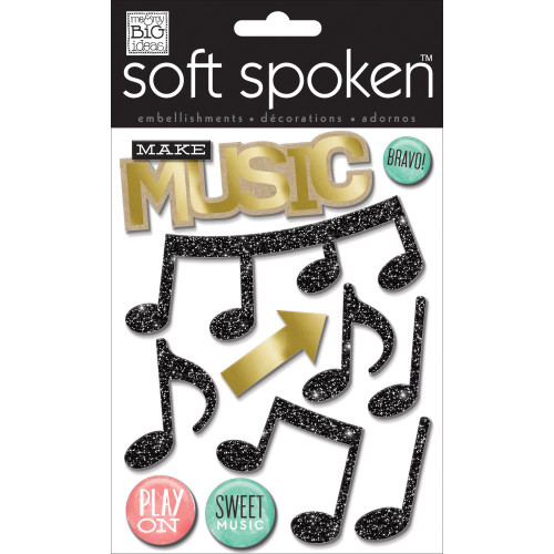 Soft Spoken Stickers: Make Music