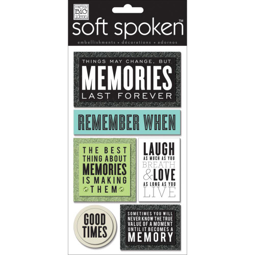 Soft Spoken Stickers: Memories Last Forever