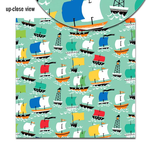 Pretty Little Studio Treasure Island 8x8 Paper (Single Sided) | Pirate's Ship
