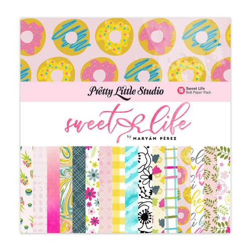 Pretty Little Studio Sweet Life Paper Pack | 8x8