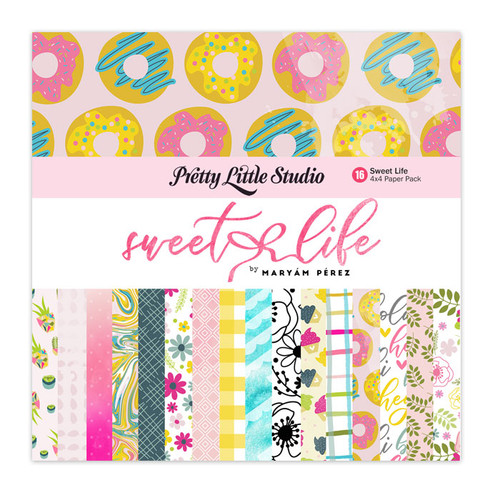 Pretty Little Studio Sweet Life Paper Pack | 4x4