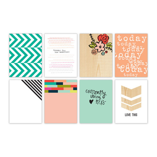Pretty Little Studio Beautiful Day Journaling/Pocket Cards | Currently 3x4