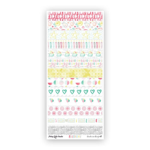 Pretty Little Studio It's Your Birthday Vellum Washi Stickers | Smile