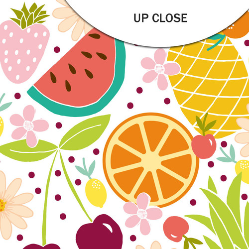 Pretty Little Studio Fun in the Sun 12x12 Paper (Single Sided) | Tutti Frutti 12x12