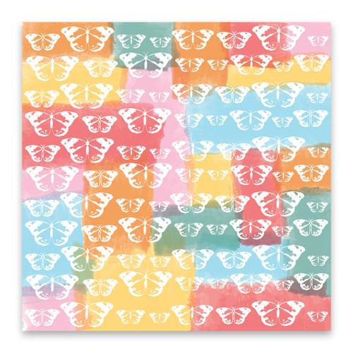 CLEARANCE | Pretty Little Studio Bohemian Dreams 8x8 Paper (Single Sided) | Fly By