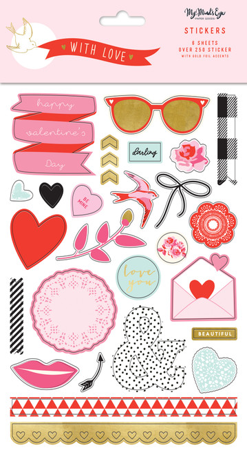 My Mind's Eye With Love Stickers