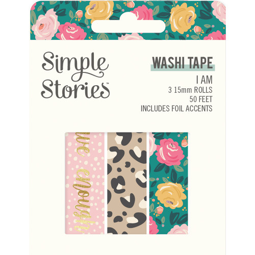 Simple Stories I Am Washi Tape