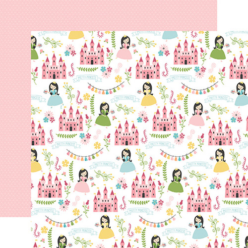 Echo Park All Girl 12x12 Paper: Pretty Princess