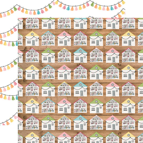 Echo Park All Girl 12x12 Paper: Dollhouse Dreams