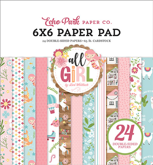 Echo Park All Girl 6x6 Paper Pad