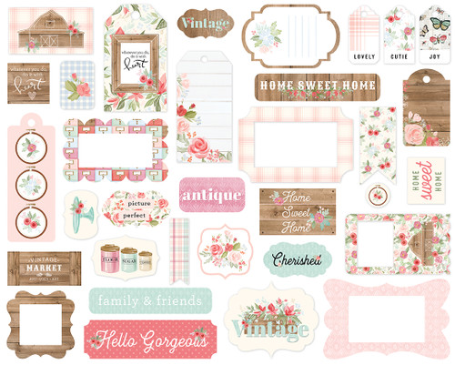 Carta Bella Farmhouse Market Frames & Tags