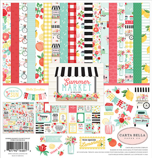 Carta Bella Summer Market Collection Kit