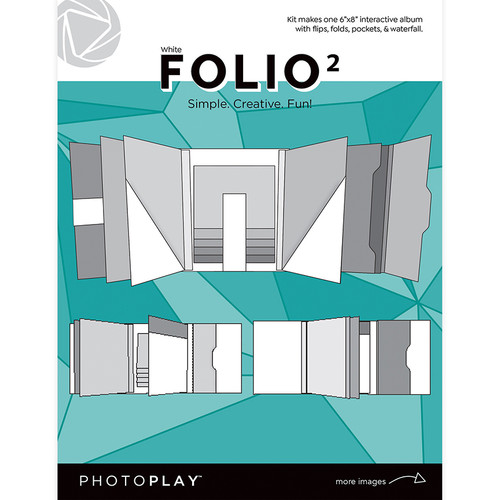 PhotoPlay Maker's Series Creation Bases | Folio 2 - White