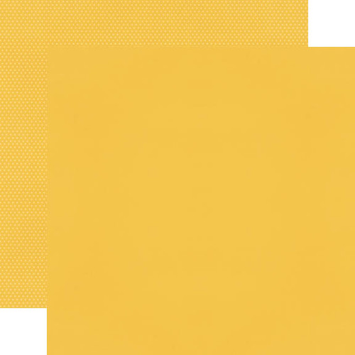 Simple Stories Color Vibe 12x12 Cardstock: Dandelion