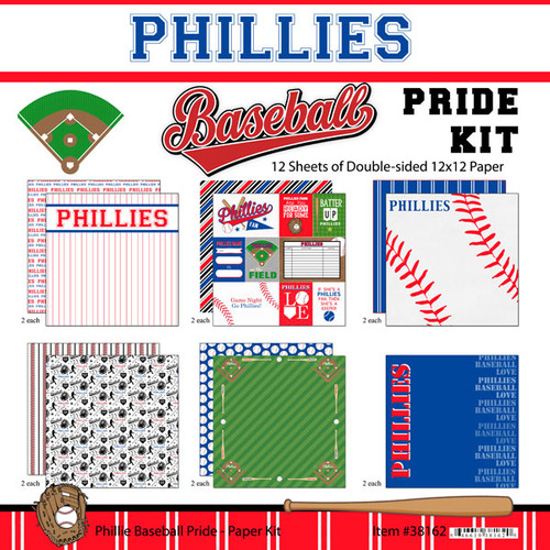 Scrapbook Customs MLB Collection Pack: Phillies Pride