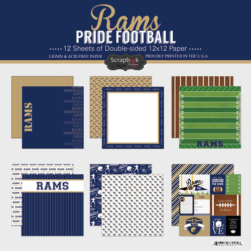 Scrapbook Customs NFL Collection Pack: Rams Pride