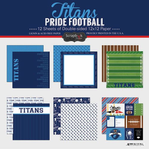 Scrapbook Customs NFL Collection Pack: Titans Pride
