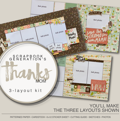 SG: Thanks Mom - 3 Layout Kit