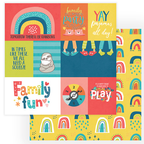 PhotoPlay We Can Just Stay Home 12x12 Paper: Family Fun