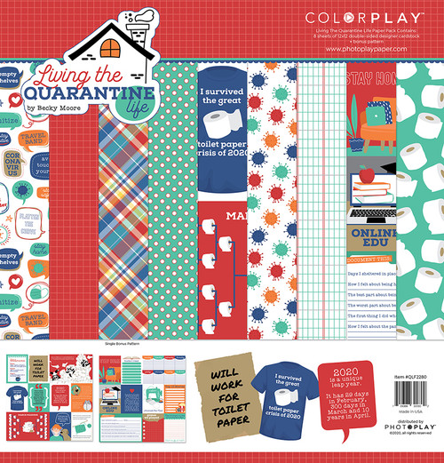 PhotoPlay Living the Quarantine Life Collection Pack