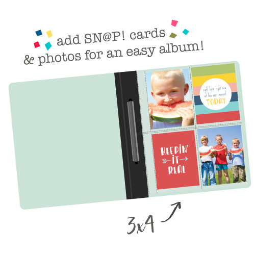 Simple Stories SN@P! 6x8 Flipbook Pages - 3x4/4X6 Pack Refills