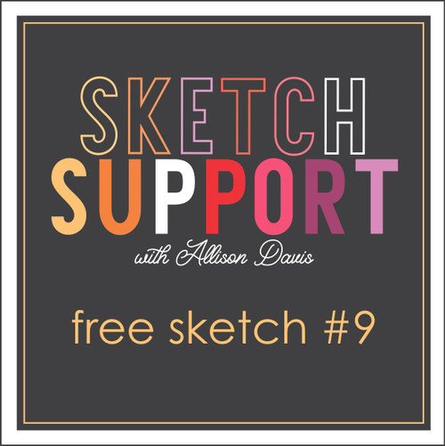 Allison Davis for SG Freebies Sketch Support | Free Sketch #9