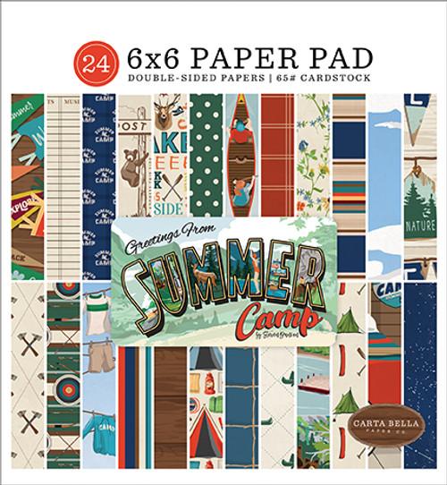 Carta Bella Summer Camp 6x6 Paper Pad