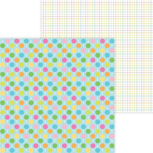 Doodlebug Hey Cupcake 12x12 Paper: Lollies