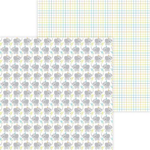 Doodlebug Party Time 12x12 Paper: Big Celebration