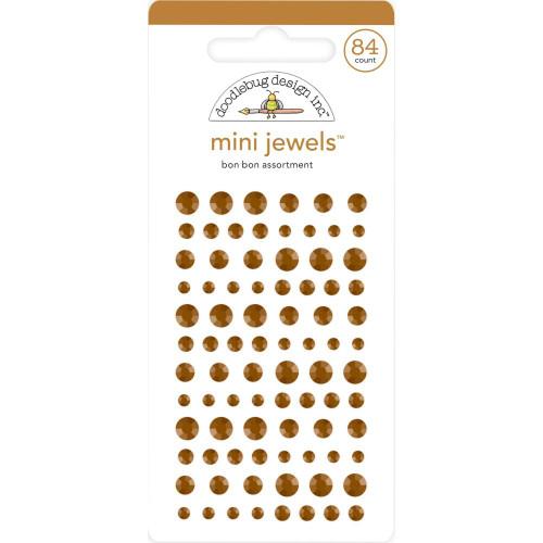 Doodlebug Monochromatic Mini Jewels: Bon Bon
