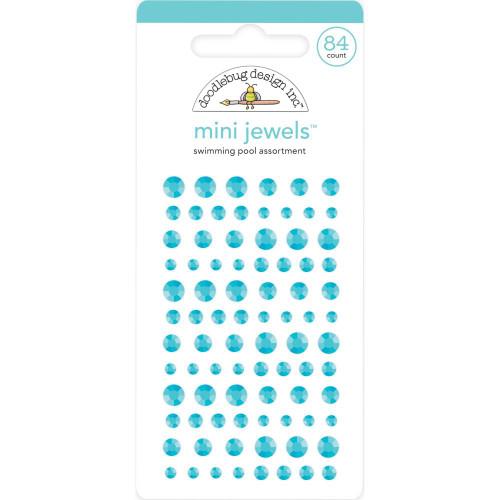 Doodlebug Monochromatic Mini Jewels: Swimming Pool